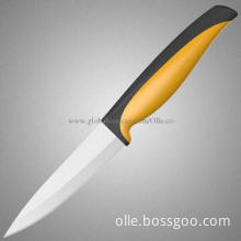 "4"" White Blade Eco-friendly Paring Ceramic Knife"